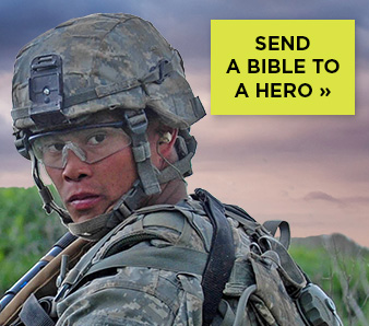 BIBLES FOR ACTIVE AMERICAN TROOPS AND VETERANS