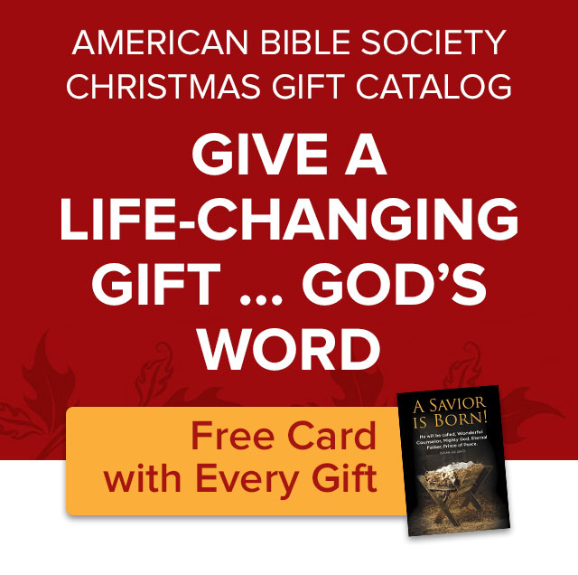 GIVE A LIFE-CHANGING GIFT ... GOD'S WORD